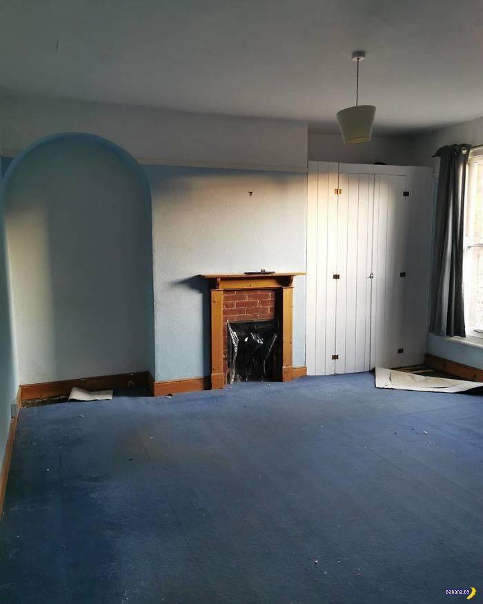 Стильный и недорогой ремонт комнаты