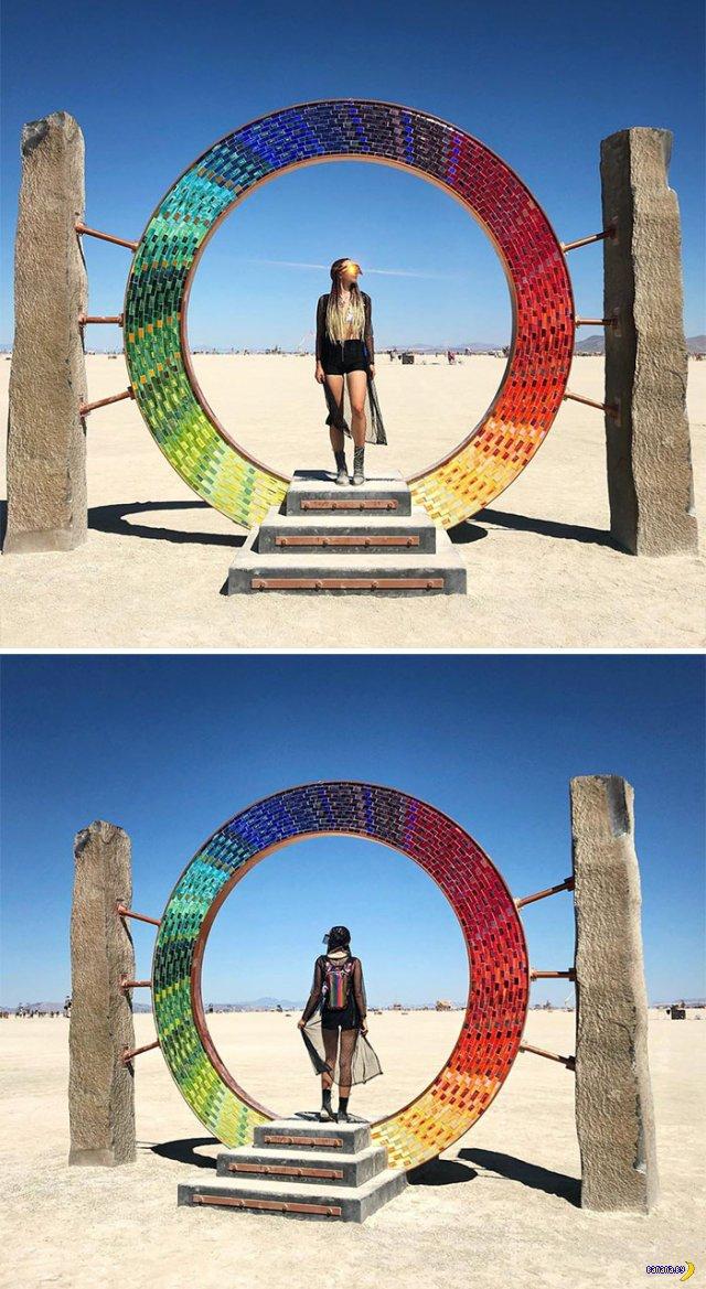 Фотографии с Burning Man 2019
