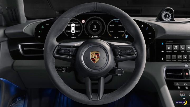 Первый серийный электрический Porsche!