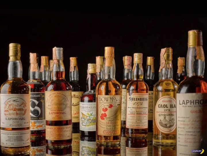 Самая дорогая коллекция виски пойдёт на аукцион