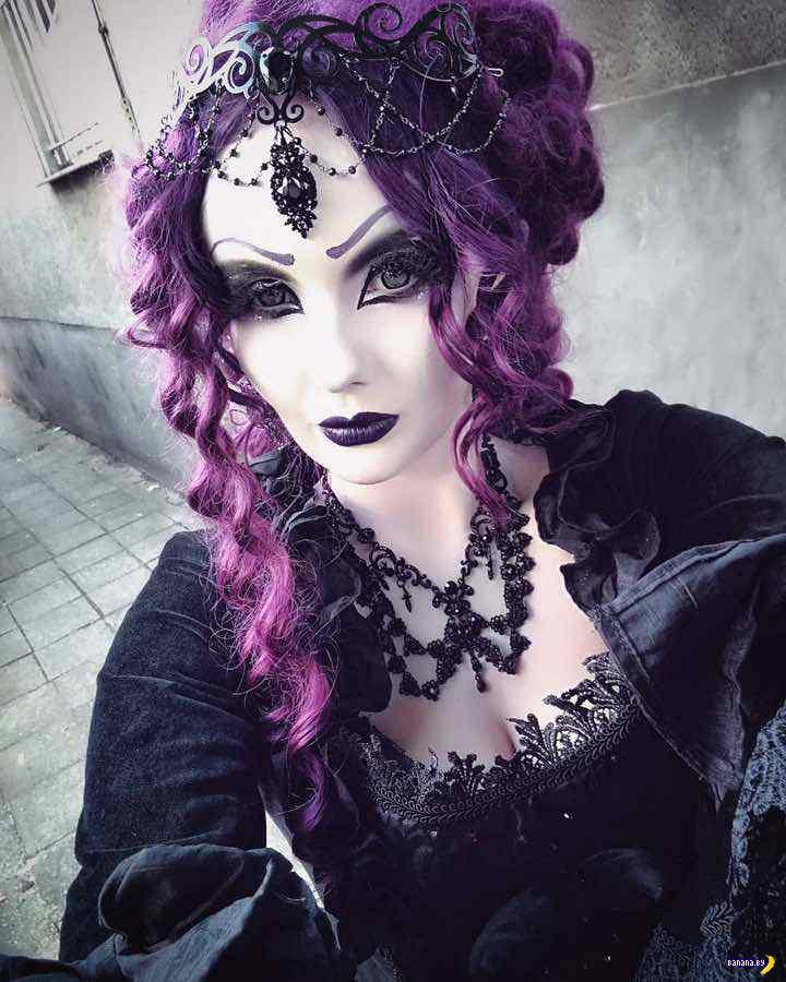 Готическая леди Deadly Nightshade