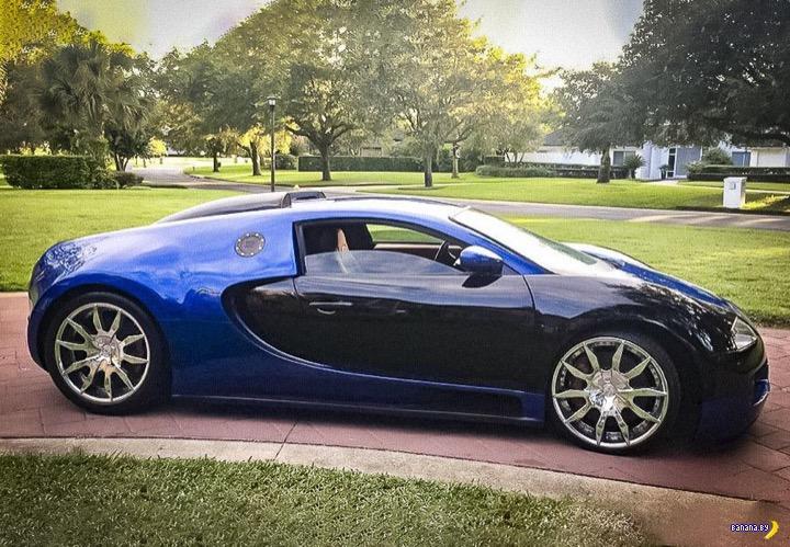 Взял и слепил себе Bugatti Veyron!