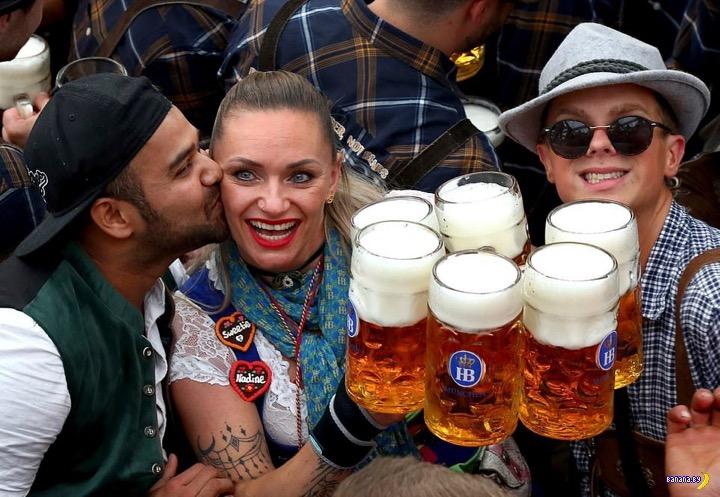 В Германии стартовал Октоберфест 2019