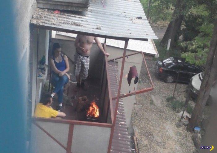 В России разрешили курить на балконах