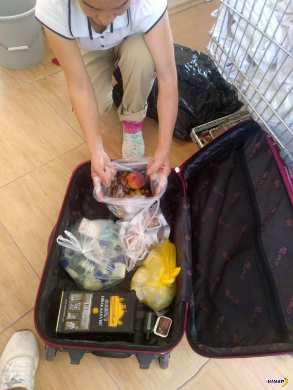 Турки из отеля попросили россиян показать чемоданы