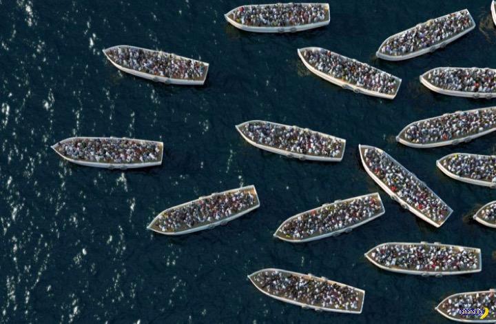 Европа приняла 6.2 млн беженцев с 2011 года