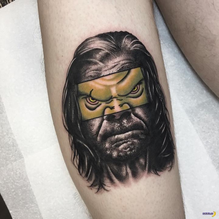 Татуировки на зависть - 126 - Mat Rule