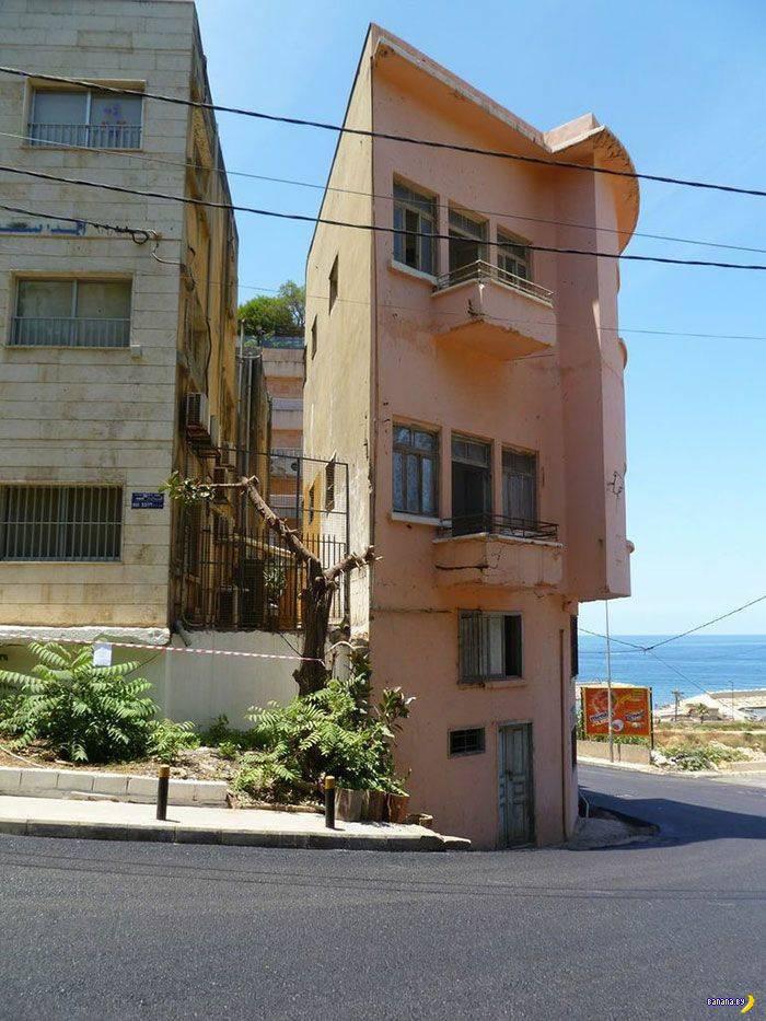 Самый тонкий дом в Бейруте построен назло