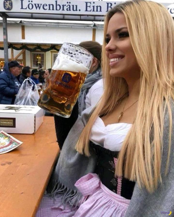 Октоберфест: сиськи и пиво!