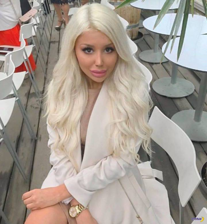 19-летняя девочка из Швеции сделала из себя Барби