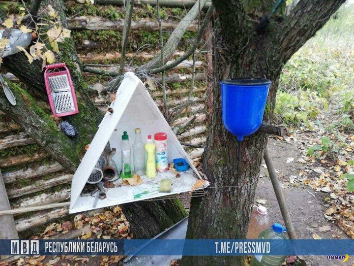 Белорус шесть лет прятался в лесу от правосудия