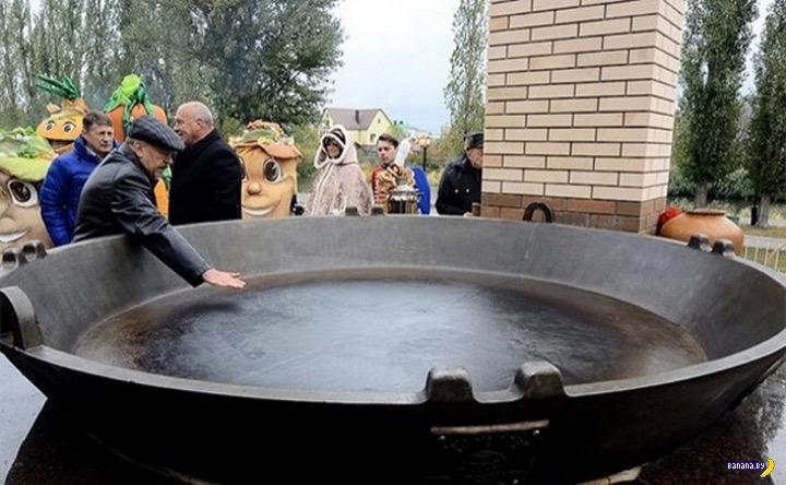 Россиян снова кормили с лопат