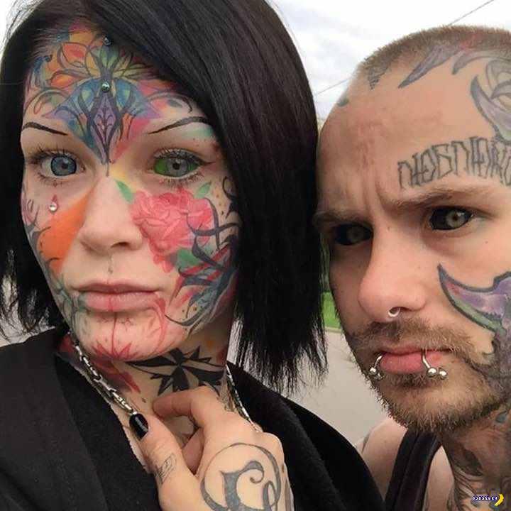Татуировки на зависть - 127 - Забитые лица!
