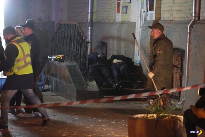 В Киеве на разборки приходят с гранатой!