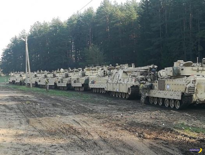 Лукашенко не боится американских танков