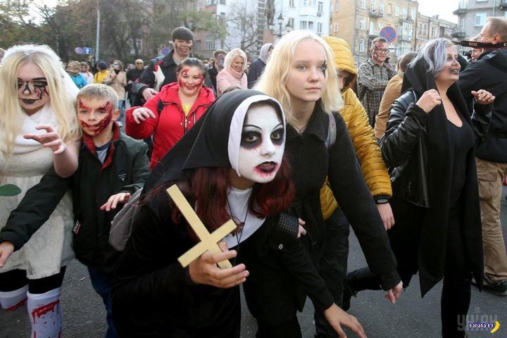 В Крыму будут наказывать за празднование Хэллоуина