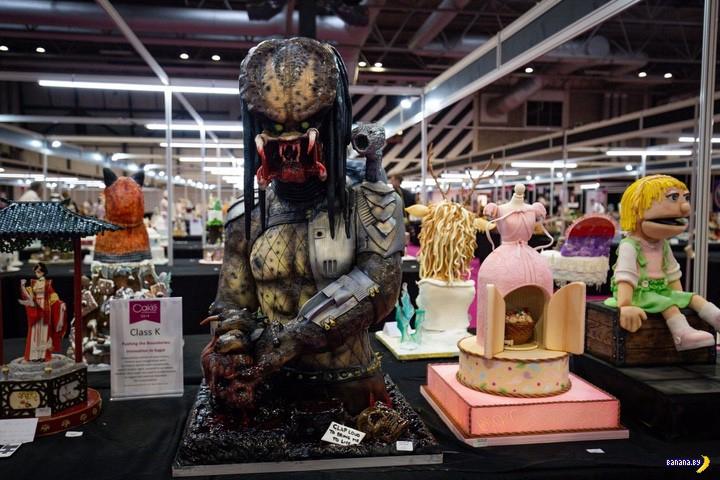 Выставка тортов Cake International
