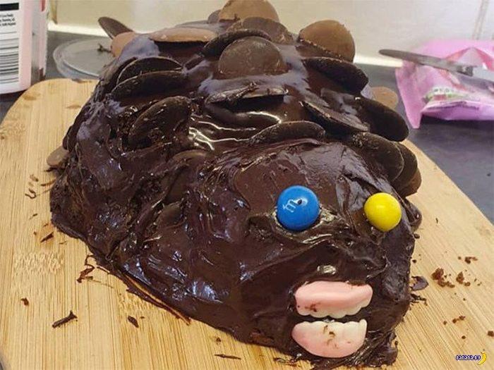 Торты-ежи –это не развидеть!