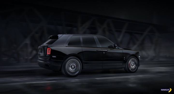 А как вам 2020 Rolls-Royce Black Badge Cullinan?