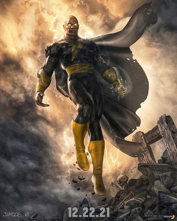 Дуэйн Джонсон угодил в DC Universe