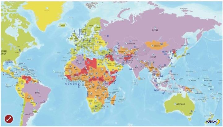 Карта безопасности