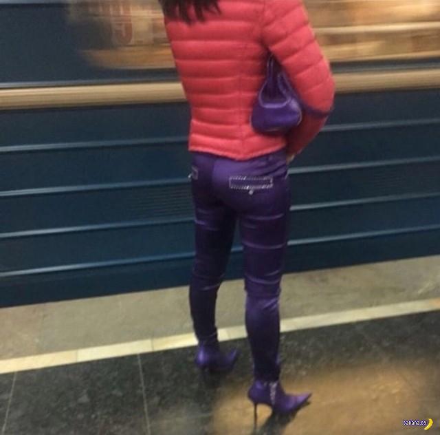 Модники в метро - 30