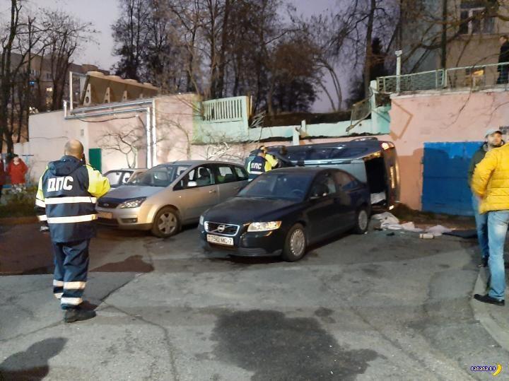 Хроника пикирующего BMW X5