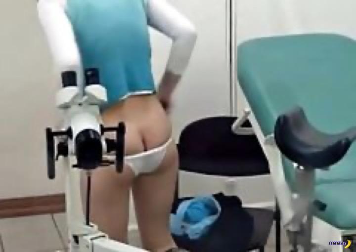 Сходила к гинекологу –попала в порно