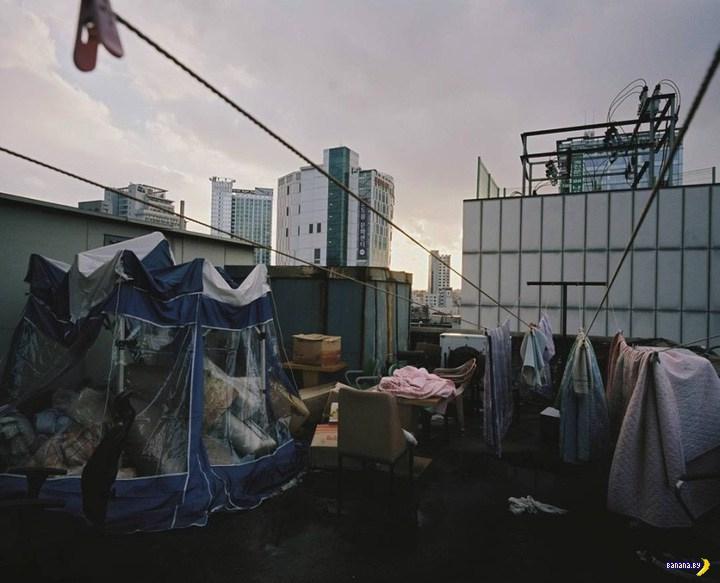 Теснота в Гонконге
