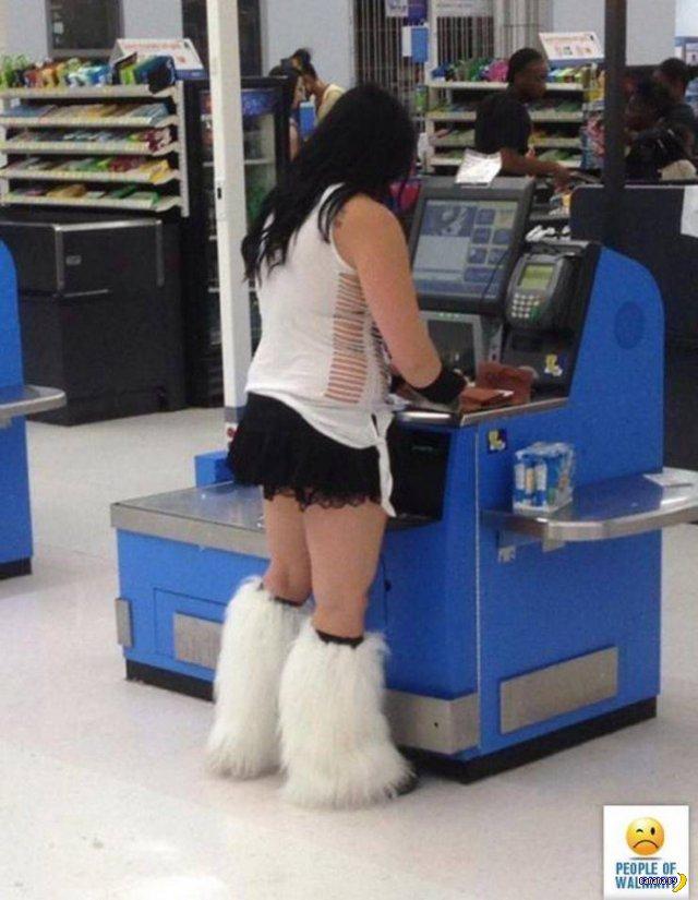 Яркие модники из Walmart - 24