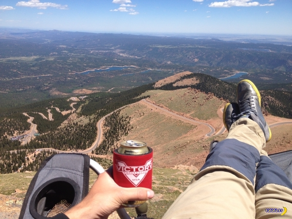 Пиво с видом!