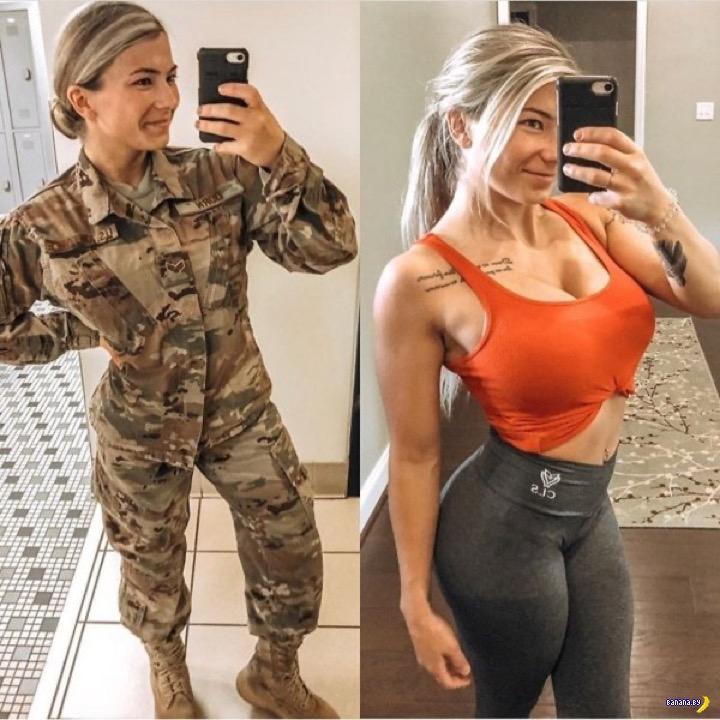 Униформа и врожденная сексуальность!
