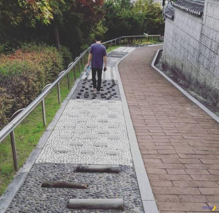 Прогулки босиком