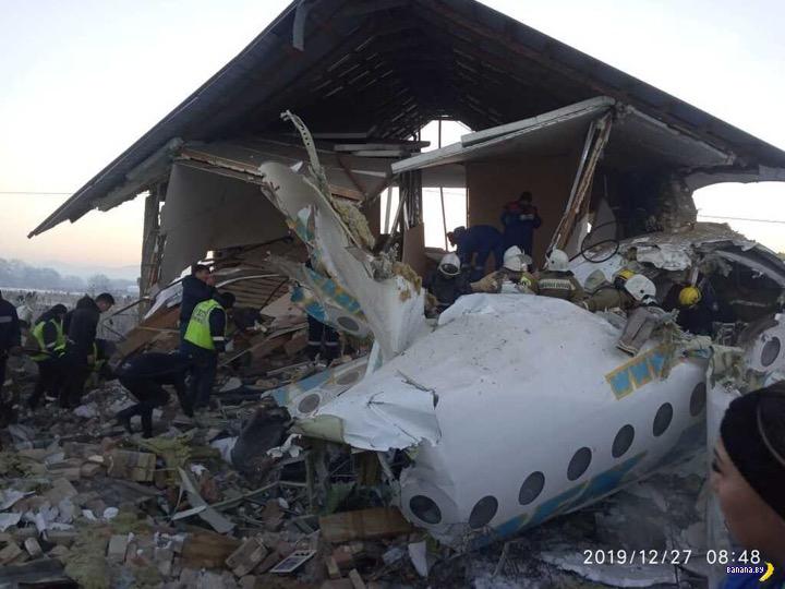 В Казахстане разбился самолёт