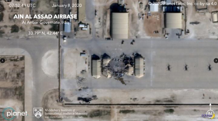 Потери США после удара Ирана по базам