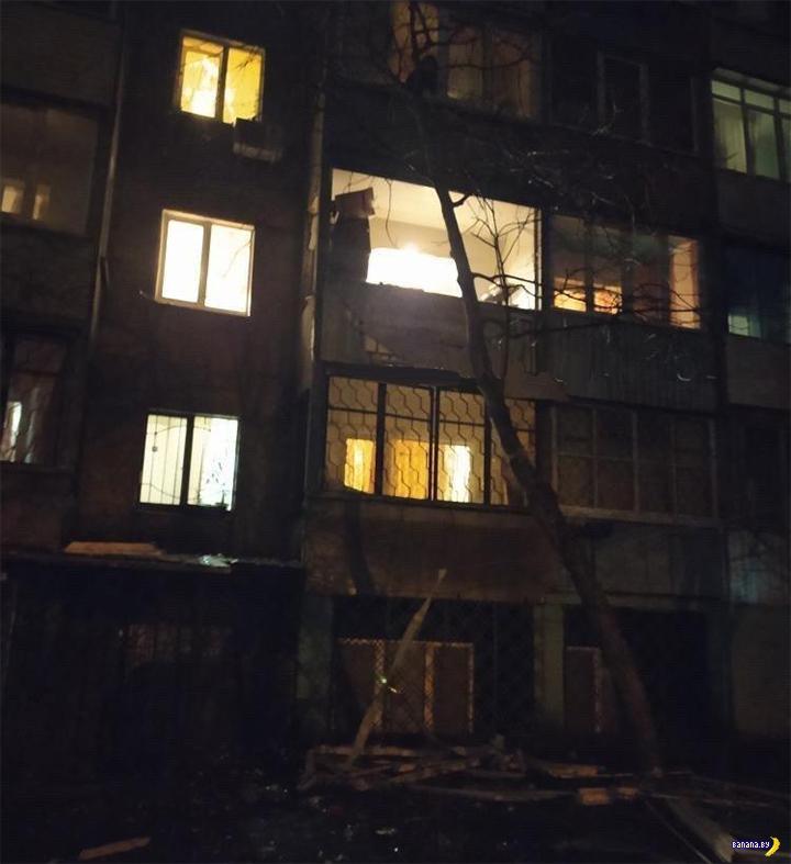 Сделал взрыв на балконе – остался без руки