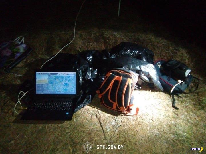 Белорусский дрон бомбил Литву сигаретами
