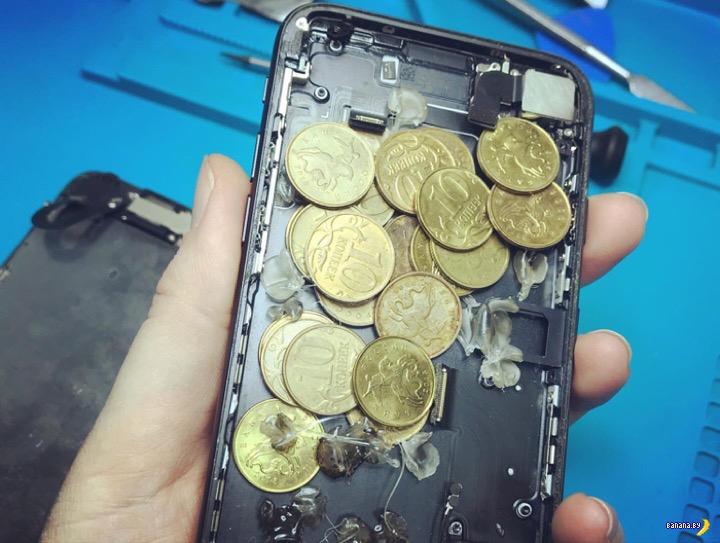 Невероятные приключения iPhone 7