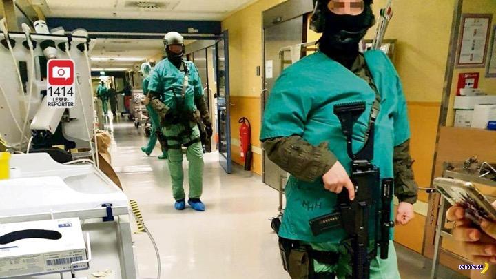 Лихие автоматчики в немецкой больнице