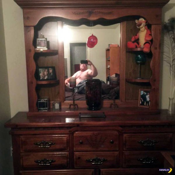 Не так просто продать зеркало!