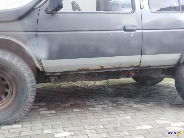 Машина на цепи