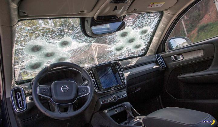 Опция с бронёй для Volvo XC90, XC60 и XC40