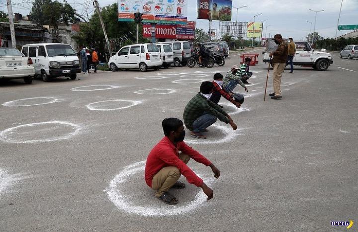 Индия: если палки не помогают, власти готовы стрелять!