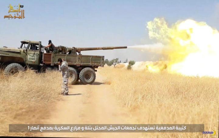 Крутой гантрак Аль-Каеды