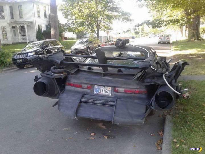 Какие у вас машинки странные!