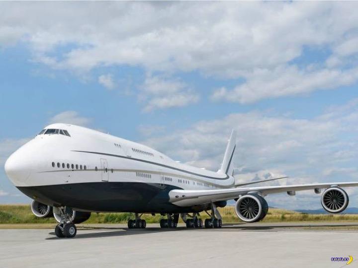 Самый большой частный самолет в мире