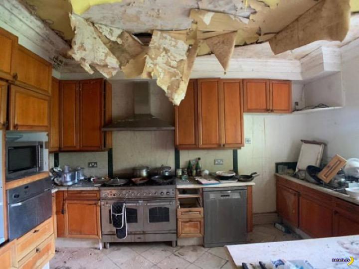 Удивительное содержимое брошенных домов