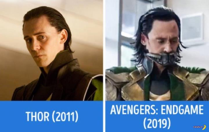 """Как изменились """"Мстители"""""""