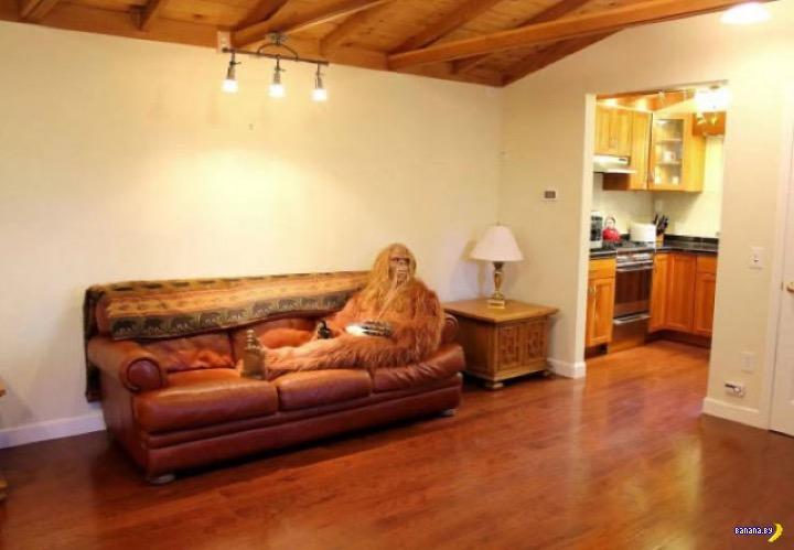 Йети продаёт дом в лесу
