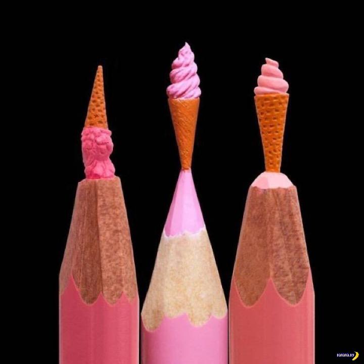 Резьба по карандашам - 2